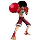 Affro Luffy Emoticon