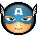 Avengers Captain America Emoticon