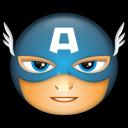 Avengers Captain America Emoticon