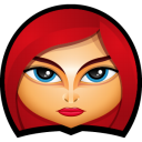 Avengers Black Widow Emoticon