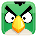 Green Bird Emoticon