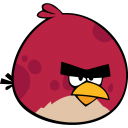 Angry Bird Red Emoticon