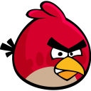 Angry Bird Emoticon