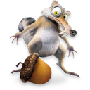 Ice Age Scrat 2 Emoticon