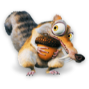 Ice Age Scrat Emoticon