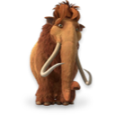 Ice Age Ellie Emoticon