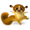 Madagascar Mort Emoticon