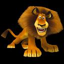 Madagascar Alex 2 Emoticon