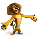 Madagascar Alex Emoticon