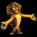 Madagascar Alex Emoticon
