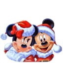 Mickey Mouse Christmas 2 Emoticon