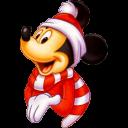Mickey Christmas Emoticon