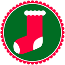 Christmas Stockings Emoticon