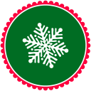 Christmas Snow Flakes 3 Emoticon