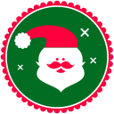 Christmas Santa Claus Emoticon