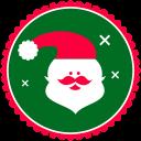 Christmas Santa Claus Emoticon