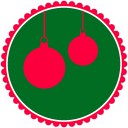 Christmas Hanging Balls Emoticon