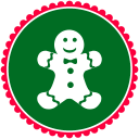 Christmas Gingerbread Cookies Emoticon
