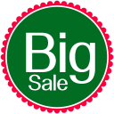 Christmas Big Sale Emoticon