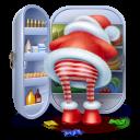 Santa Steal Emoticon