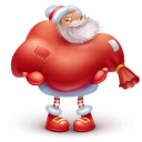 Santa Gift Emoticon