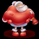 Santa Gift Emoticon