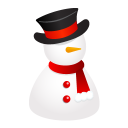 Snowman Hat Emoticon