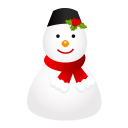 Snowman Cap Emoticon