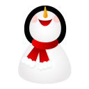 Smiling Snowman Emoticon
