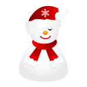 Sleepy Snowman Emoticon