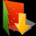 Folder Downloads Emoticon