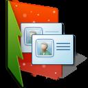Folder Contacts Emoticon
