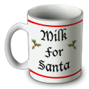 Santa Mug Emoticon