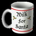 Santa Mug Emoticon
