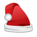 Christmas Santa Cap Emoticon