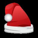 Christmas Santa Cap Emoticon