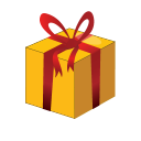 Christmas Gift Box Emoticon