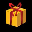 Christmas Gift Box Emoticon