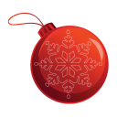 Christmas Bauble Emoticon
