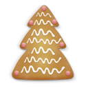 Christmas Cookie Tree 2 Emoticon