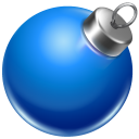 Ball Blue 2 Emoticon