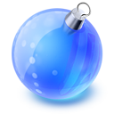 Christmas Ball Emoticon