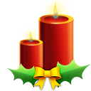 Candles With Ribbon Emoticon
