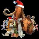 Ice Age Christmas Emoticon