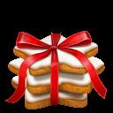 Gingerbread Stars Emoticon
