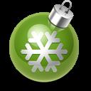 Xmas Decoration Green Emoticon
