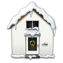 Snowy House Emoticon