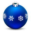 Ornament With Snow Flakes Emoticon
