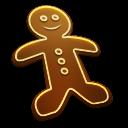 Gingerbread Man Emoticon