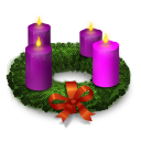 Advent Wreath Emoticon